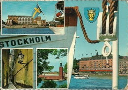 Stockholm (Svezia) Views, Vues, Vedute, Ansicht - Svezia