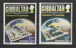 MiNr. 475 - 476 Gibraltar / 1984, 6. März. Europa: 25 Jahre Europäische Konferenz Der Verwaltungen Für Das Post- Und Fer - Gibraltar