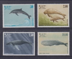 Sri Lanka 1983 Marine Mammals, Dolphin, Whales MNH - Sri Lanka (Ceylon) (1948-...)