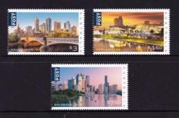 Australia 2018 Beautiful Cities Set Of 3 Set Of 3 MNH - 2010-... Elizabeth II