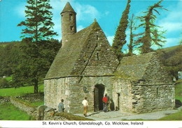Glendalough, Co. Wicklow (Ireland, Irlanda) St. Kevin's Church - Wicklow