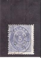 Islande - Yv.6A - D.14x13,5 - (quelques Points Clairs) - Côte:700 € (a Voir) - 1873-1918 Danish Dependence