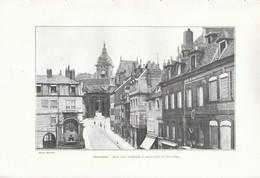 1902 - Phototypie - Besançon (Doubs) - La Porte Noire - FRANCO DE PORT - Non Classés