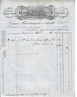 1869 - MACON - Fabrique De LIQUEURS - ABSINTHE - Cognac - Armagnac - Maison TURREL - Documents Historiques