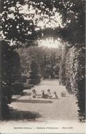 D69 - RONNO - CHATEAU D'ORNAISON  - UNE ALLEE - Enfants Assis Dans L'allée Avec Un Chien Berger Allemand - France