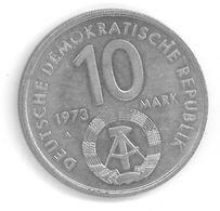 ALLEMAGNE - RDA - 10 MARKS 1973 - Jeux De La Jeunesse - ( Mark ) - [ 6] 1949-1990 : RDA - Rep. Dem. Tedesca