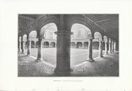 1902 - Phototypie - Besançon (Doubs) - La Cour Intérieure Du Palais Granvelle - FRANCO DE PORT - Non Classés