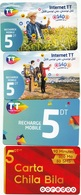 3 Prepaées Tunisie Telecom Et Une Ooredoo - Tunisie