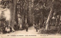 LUXEUIL LES BAINS BAINS  ALLÉE DES PLATANES - Luxeuil Les Bains