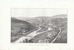 1902 - Phototypie - Besançon (Doubs) - L'île Malpa - FRANCO DE PORT - Non Classés