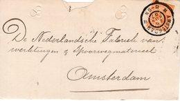 26 NOV 97   Nota  Lokaal Te Amsterdam Met NVPH34 Met Gr.rond - Periode 1891-1948 (Wilhelmina)