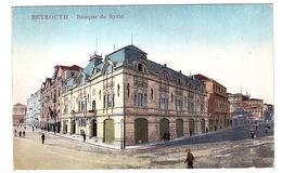 BEYROUTH - Banque De Syrie - Ed. Sarrafian Bros., Beyrouth - Libano