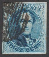 COB N° 11a - Oblitéré - 1849-1865 Medallions (Other)