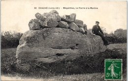 44 - CHAUVE -- Mégalithes , La Pierre à La Martine - France