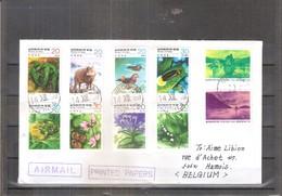Belle Lettre De Corée Du Sud Vers Belgique - Conservation De La Nature (à Voir) - Corée Du Sud