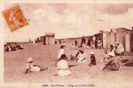 1980 - Cpa 17 Ile D'Oléron - Plage De Saint Denis - Ile D'Oléron