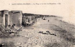 2049 - Cpa 17 Ile D'Oléron - St Denis D'Oléron, La Plage Et La Côte De Chassiron - Ile D'Oléron