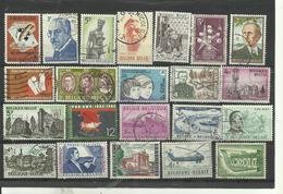 Lot De 22 Timbres De Belgique Année Diverses. - Postzegels
