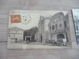 CPA 26 Drôme Montélimar Hôtel De La Poste Et Les Garages  Garage Moulin Autos BE - Montelimar