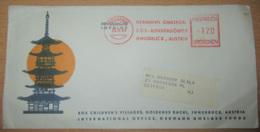 Autriche Vers Etats-Unis - Enveloppe Children's Village Avec EMA Datées Du 23 Novembre 1964 - Machine Stamps (ATM)