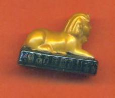 Fève De La Serie Spendeur D'égypte Ancienne - Le Sphinx - History