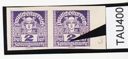 """TAU400 ÖSTERREICH 1920 Michl 293 PLATTENFEHLER (als Beweis 2 Stück Eingestellt) Weißer PUNKT über """"n"""" ** Postfrisch - Abarten & Kuriositäten"""