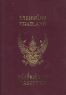 Thailand  Passport, Reisepass, Passeport, Passaporte, Paspoort, Reispas Thailand 2003 - Documenti Storici