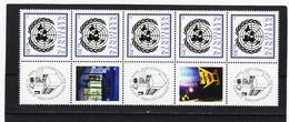 TAU276 UNO WIEN 2012 GRUSSMARKEN MICHL 748 FÜNFERSTREIFEN ** Postfrisch Siehe ABBILBUNG - Wien - Internationales Zentrum