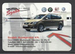Hungary, Seat Alhambra, Car Service Ad, 2011 - Calendars