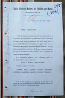 51 CHALONS SUR MARNE Ecole Arts Metiers GADZARTS FIGNOS Promo 1867-70 - Non Classés