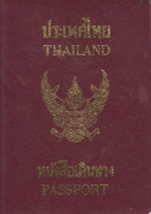 Thailand Passport, Reisepass, Passeport, Passaporte, Paspoort, Reispas Thailand 1996 - Documenti Storici