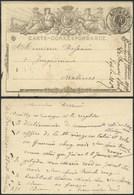 A062 Entier De Roulers à Malines 1872 - Enteros Postales