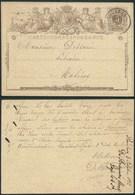 A066 Entier De Roulers à Malines 1872 - Enteros Postales