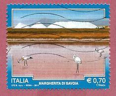 ITALIA REPUBBLICA USATO - 2014 - TURISMO TURISTICA - Margherita Di Savoia -  € 0,70 - S. 3498 - 2011-...: Usati