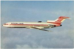 STERLING AIRWAYS - Boeing 727 (Airline Issue) - 1946-....: Moderne