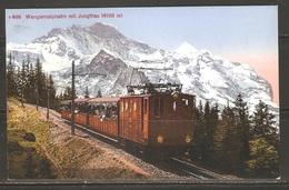 Carte P ( Suisse / Chemin De Fer De Montagne ) - Trains