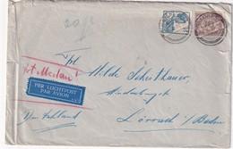INDES NEERLANDAISES 1936 PLI AERIEN DE BATAVIA POUR LOERRACH - Niederländisch-Indien