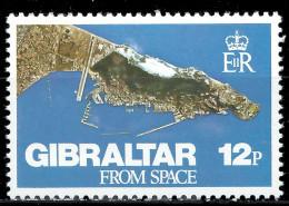 GIBRALTAR - Gibraltar Vu De L'espace - Gibraltar
