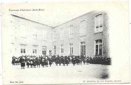 Audenhove Sainte-Marie NA9: Pensionnat. Cour Des Jeux 1908 - Zottegem