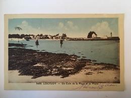 Loctudy - Un Coin De La Plage Et Le Phare - Loctudy