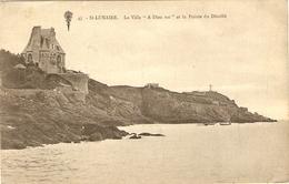 """SAINT LUNAIRE  --  La Villa  """" A Dieu Vat """" Et La Pointe Du Décollé - Saint-Lunaire"""