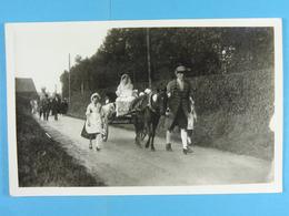 5 Cartes Photos D'un Cortège - Cartes Postales