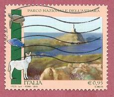 ITALIA REPUBBLICA USATO - 2015 - Parchi Giardini Orti Botanici D'Italia Parco Nazionale Dell'Asinara - € 0,95 - S. 3607 - 2011-...: Usati