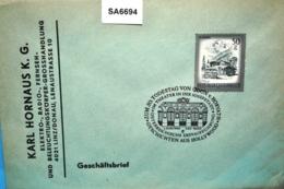 SA6694 50.Tt. Öden Von Horvath, Theater In Der Josefstadt, 1150 Wien 1.6.1988 - Machine Stamps (ATM)