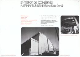 Vers 1970 - Iconographie - Épinay-sur-Seine (Seine-Saint-Denis) - Entrepot De Conserves - FRANCO DE PORT - Non Classés