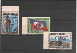 HAITI  P.A. Années  1958/59 N°Y/T :124/127** Et 176/178** - Haïti