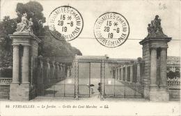 Oblitération Congrés De La Paix Versailles 28/06/1919 Sur Cp - 1877-1920: Période Semi Moderne