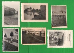 Fiume Oglio Zona Piadena Cremona Centrale Sollevamento Acque 6 Foto Anni 50 - Luoghi