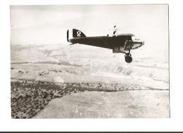 PHOTO AVION POTEZ 25 T.O.E. 2°ESCADRILLE G.A.O. D'EL-AOUINA SURVOLANT LA REGION DE GAFSA TUNISIE 1936 12X8CM - 1919-1938: Entre Guerres