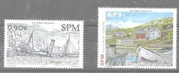 2 Series De San Pedro Y Miquelon Nº Yvert 806 Y 811 **  BARCOS (SHIPS) - St.Pedro Y Miquelon